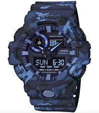 Casio G-Shock *GA700CM-2A Front Button Camo Blue Resin for Men COD PayPal