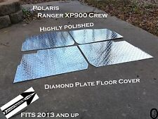 Polaris Ranger Crew XP900 Aluminum Diamond Plate Floor cover 2013 and up