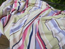 Pottery Barn Qn Cotton Striped Duvet Cover/Pillow Cover~Made in Israel~98 X 84