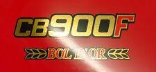 HONDA CB 900 F BOL D OR pages Couvercle Emblème Autocollant Décalques 2 Pièce