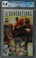 Generations Captain Marvel & Mar-Vell #1 CGC 9.8 (Nov 2017) Stan Lee Box edition