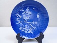 1983 Bing & Grondahl B & G Christmas Plate Christmas in old Town Mint Condition