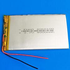 3.7V 4000mAh Li Po Rechargeable Battery for Power Bank Mobile Phone MID 4060100