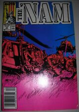 THE 'NAM 13 Marvel comic Dec 1987 FVF MIKE GOLDEN ART&COVER modern age SEE MORE