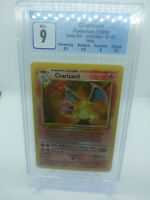 1999 Pokemon Base Set Unlimited Holo Charizard 4/102 CGC 9 MINT (PSA BGS)