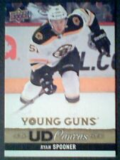 RYAN SPOONER  13/14 AUTHENTIC UDS1 CANVAS YOUNG GUNS CARD  SP