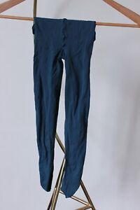 Women's Fogal light blue stockings - Tall Size 10 AUS