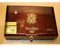 Arturo Fuente Opus X Robusto Empty Wooden Cigar Box 9.5x6.25x3