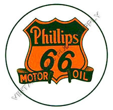 "Phillips 66 Motor Oil 2"" Water Transfer Decal (DW317)"