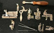 Antique/vintage sewing machine bits and pieces