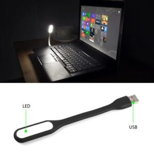 Black Color Mini LED USB Night Light Flexible Night Lamp Laptop Table Light
