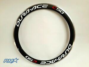 Shimano Dura Ace C50 Carbon-Alloy Rim Clincher 16H Black