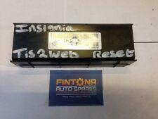 Insignia Heater Control Module ECU Control Unit / Tis2Web Reset 13505741
