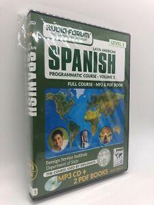 FSI: Programmatic Spanish 1 (PC/MAC) by Audio-Forum