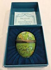 Bilston & Battersea Halcyon Days 1973 Easter Egg