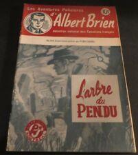 1940s ADVENTURES POLICIER ALBERT BRIEN DETECTIVE SEX MURDER FRENCH  PULP #544