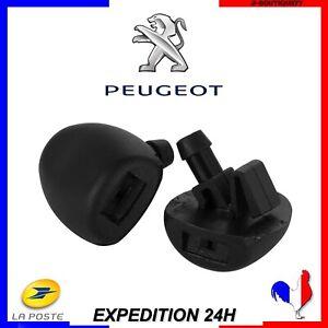 Buse GAUCHE+DROIT Gicleur Lave-Glace Peugeot  206 207 407 NEUF