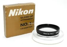 NIKON 52mm CLOSE-UP FILTER No.1! EXCELLENT PLUS CONDITION! 90-DAY WARRANTY!
