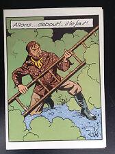 Carte postale Blake et Mortimer Charabia ETAT NEUF
