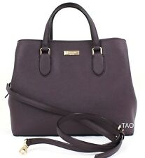 Kate Spade NY Laurel Way Evangelie Satchel Handbag Shoulder Bag Mahogany New NWT