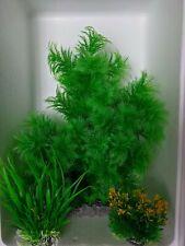 XL Aquarium Plastic Plant + 2