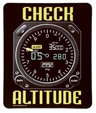 New TRINTEC Check Altitude Aviator Humor Mouse Pad Aviation Gift Humorous