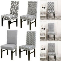 Dining Chair Covers Removable Stretch Universal Soft Protective Cover Slipcover
