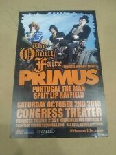 Primus Poster 10/2/2010 Chicago Congress theater