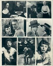 1979 Composite of Movie Scenes With Actress Ingrid Bergman Press Photo