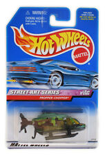 Hot Wheels Street Art Propper Chopper Helicopter Brand New Sealed