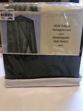 Brand New Indoor/Outdoor Mosquito Net- Pesto Green color- Pier 1 Import