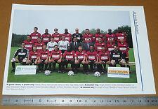 CLIPPING POSTER FOOTBALL 1999-2000 STADE RENNAIS RENNES ROAZHON BREIZH BRETAGNE