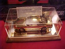 1996 RICK HENDRICK 24K GOLD PLATED BONE MARROW FOUNDATION 1/24 CAR #306 OF 750