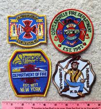 4 New Jersey fire patches ; Lebanon, Jersey City, Greystone & Saddle Brook