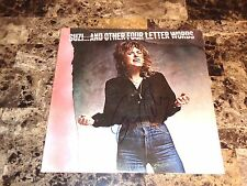 Suzi Quatro Rare Autographed Vinyl LP Record Suzi... And Other Four Letter Words