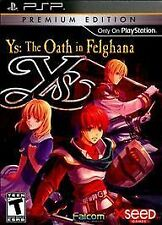 Ys: The Oath in Felghana -- Premium Edition (Sony PSP, 2010)