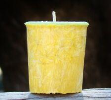 160hr 8pk WHITE TEA & LAVENDER Relaxaton Natural Scented VOTIVE CANDLES Refils