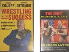 Nikita Koloff DVD + Book, Wrestling WWE WCW WWF NWA