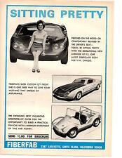 1967 FIBERFAB AVENGER GT-12  ~  NICE ORIGINAL KIT CAR AD