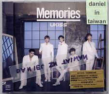 UKISS: Memories (2014) U-Kiss Korea Japan / CD & DVD TAIWAN