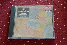 """CD BIZET """"SYMPHONIE 1 + L'ARLÉSIENNE & CARMEN, SUITES 1 & 2"""" GEORGES PRÊTRE, RCA"""
