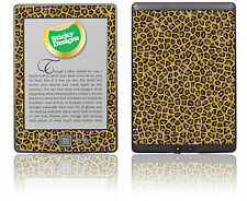 Amazon Kindle 4 Ebook Reader-Leopardo Fur Piel pegatina cubierta