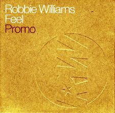 CD SINGLE promo ROBBIE WILLIAMS Feel 2-track 2002 EU