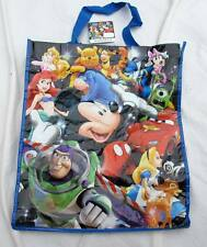 Disney Store Tote Bag Mickey Minnie Mouse Cars Little Mermaid Pooh Buzz Bambi