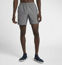 Mens Nike Dry Challenger Running Shorts Gray Size XL X-Large 908788-037