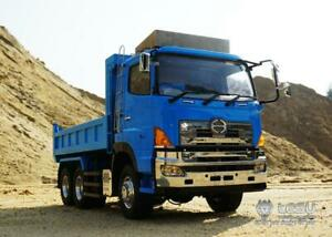 1/14 Model 6*6 TAMIYA LESU Hydraulic Dumper RC Hino Truck Motor ESC FS-I6S Car