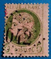 Marcophilie-Emis. du type Cérés  N° 53  d, (TB-1107-1) Oblit LGC Except + 215 €