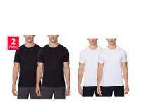 32 Degrees Men's Soft Feel Cool Short Sleeve Crew Neck Tee Shirt S M L XL