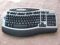 Genuine Microsoft Wireless keyboard 4000 keyboard only