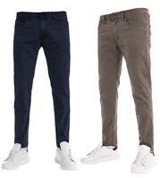 Pantalone Cinque Tasche Tinta Unita Uomo Slim Fit Vari Colori Cotone GIOSAL